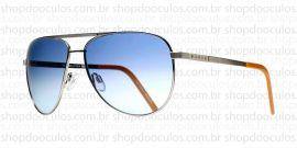 Óculos de Sol Evoke - Evoke AirFlow Silver Caramel Blue Gradient