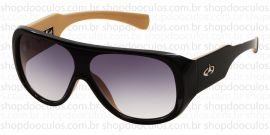 4d97a15fcccc7 Óculos de Sol Evoke - Evoke Amplifier Aviator Black-Nude Gold Brown Total
