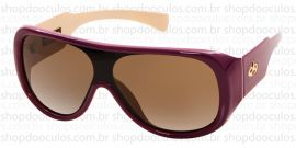 3dfa26c8a38d6 Óculos de Sol Evoke - Evoke Amplifier Aviator Purple-Nude Gold Brown  Gradient