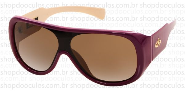 6d7ef5d1d21b6 Óculos de Sol Evoke - Evoke Amplifier Aviator Purple-Nude Gold Brown  Gradient