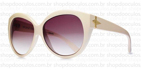 bde7efcb168c7 Óculos de Sol Evoke - Evoke Deja Vu Cat Style Bege Grilamid Gold Brown  Gradient