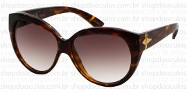 0f3aee2ca423c Óculos de Sol Evoke - Evoke Deja Vu Cat Style Turtle Gold Brown Gradient