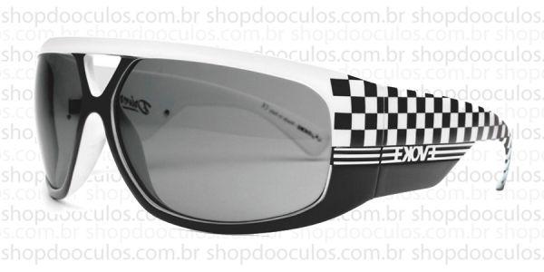 c9fefdac00c6c Óculos de Sol Evoke - Evoke Driver White Square Grilamid Silver Gray Total