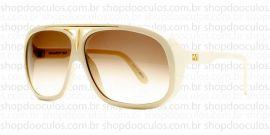 92d557f667bfd ... Driver White Square Grilamid Silver Gray Total. indisponível. + Óculos  de Sol - Evoke · Óculos de Sol Evoke - Evoke Evk 01 Bege Gold Brown Gradient