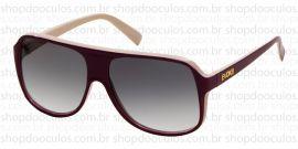 e8e93b301e6bd Óculos de Sol Evoke - Evoke Evk 04 Purple Bege Gold Brown Gradient