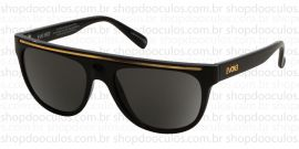 c761594090437 Óculos de Sol Evoke - Evoke Evk 07 - The Hype Br Black Shine Gold Gri