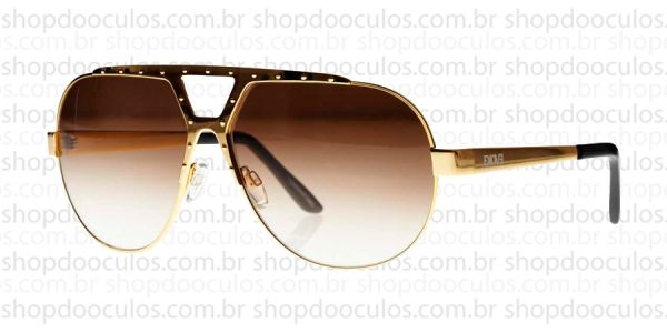 918078082 Óculos de Sol Evoke - Evoke Havana 01 Gold Laser Brown Gradient no ...