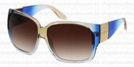 31dbc141854d8 Óculos de Sol Evoke - Evoke Power Flower Fade Crystal Champagne Blue Gold  Brown Gradient