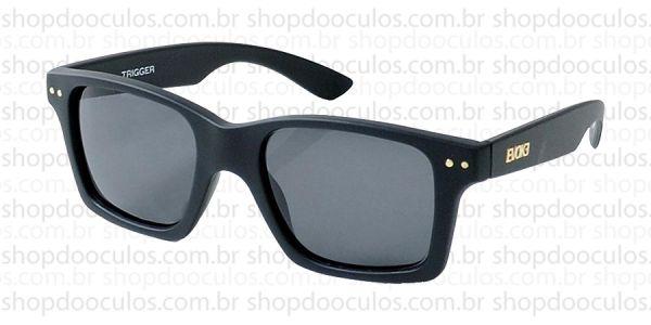 Óculos de Sol Evoke - Evoke Trigger Black Matte Gold Gray Total no ... ee99d8a96d