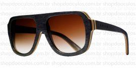 Óculos de Sol Evoke - Evoke Wood Series - 01 - Maple Collection - Black  Laser de807c18b0