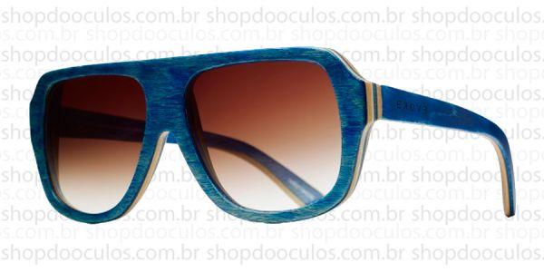 c46e43b56 Óculos de Sol Evoke - Evoke Wood Series - 01 - Maple Collection - Blue  Laser Brown Gradient