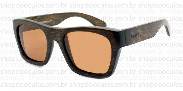 Óculos de Sol Evoke - Evoke Wood Series - 02 Dark Wood Laser Brown Polarized f48e5ba1cb