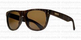 a8c0be53e4b53 Óculos de Sol Evoke - On The Rocks 01 - Striped Brown Gold Brown Total