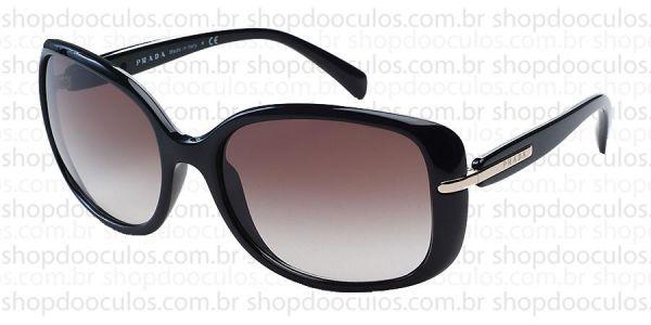 a6797c4961a22 768b9ce6f84 Óculos de Sol Prada - SPR08O 57 17 - 1AB-0A7 no Shop do ...