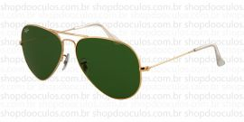 Óculos de Sol Ray Ban - Polarized - RB3025 - 58*14 001/58