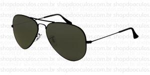 Oculos de Sol Ray Ban - Polarized - RB3025 - 58*14 002/58