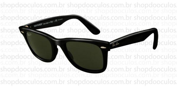 Óculos de Sol Ray Ban - RB2140 50 22 901 58 WAYFARER Polarizado no ... 5a935007e0c3