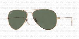 Óculos de Sol Ray Ban - RB3025 - 55*14 - W3234 Aviator