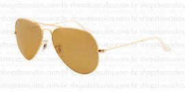 Óculos de Sol Ray Ban - RB3025 58*14 001/3K Aviator