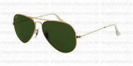 Óculos de Sol Ray Ban - RB3025 58*14 L0205 Aviator
