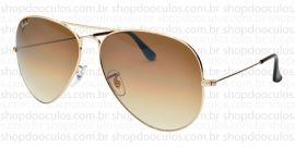 Óculos de Sol Ray Ban - RB3025 - 62*14 001/51