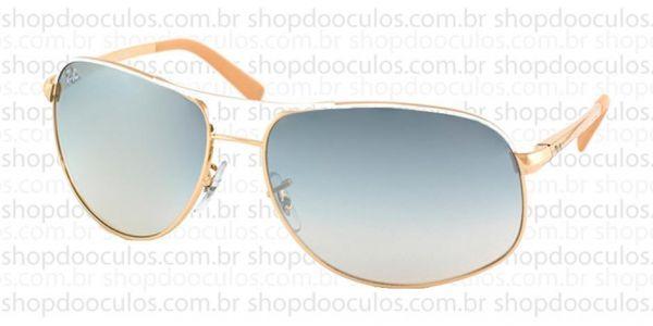 d0865aabb8ec2 Óculos de Sol Ray Ban - RB3387 64 15 077 7B no Shop do Óculos