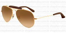 Óculos de Sol Ray Ban - RB3422-Q 55*14 001/51