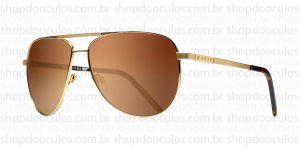 Oculos de Sol Evoke - Evoke AirFlow Gold Turtle Brown Flash Mirror