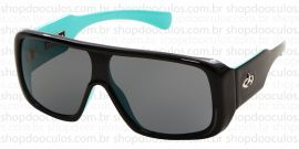 Óculos de Sol Evoke - Evoke Amplibox Black Green Silver Gray Gradient