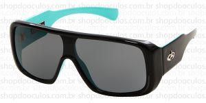 Oculos de Sol Evoke - Evoke Amplibox Black Green Silver Gray Gradient