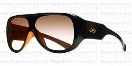 Óculos de Sol Evoke - Evoke Amplifier Aviator Black Orange Gold Brown Gradient
