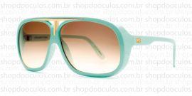 Óculos de Sol Evoke - Evoke Evk 01 Green Gold Brown Gradient