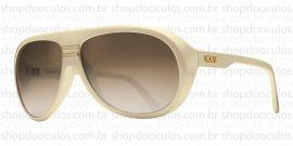 Óculos de Sol Evoke - Evoke Evk 02 Bege Grilamid Gold Brown Gradient