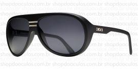 Óculos de Sol Evoke - Evoke Evk 02 Black Matte Grilamid Silver Gray Total