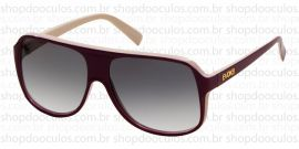 Óculos de Sol Evoke - Evoke Evk 04 Purple Bege Gold Brown Gradient
