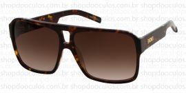 Óculos de Sol Evoke - Evoke Evk 09 Demi Acetate Gold Brown Gradient