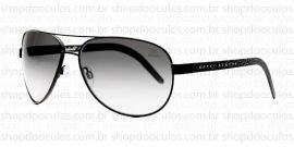 Óculos de Sol Evoke - Evoke Poncherello Marky Ramone Black Monel Laser Gray Total - Limited Edition