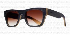 Óculos de Sol Evoke - Evoke Wood Series - 02 - Maple Collection - Black Laser Brown Gradient