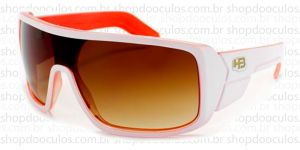 Oculos de Sol HB - Carvin - White Orange