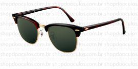 Óculos de Sol Ray Ban - RB3016 51*21 W0366 CLUBMASTER