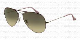 Óculos de Sol Ray Ban - RB3025 58*14 072/32 AVIATOR LARGE
