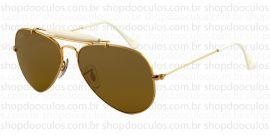 Óculos de Sol Ray Ban - RB3407 58*14 001/3K