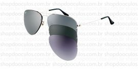 Óculos de Sol Ray Ban Polarized- RB3460  59*13  004/6G