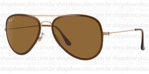 Oculos de Sol Ray Ban - RB3513-M 56*17 149/83 Polarized