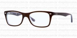 Óculos Receituário Ray-Ban - RB5228 - 50*17 5076