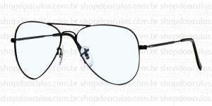 Oculos Receituário Ray-Ban - RB6049 - 55*14 2503