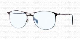 Óculos Receituário Ray-Ban - RB6254 - 52*17 2760